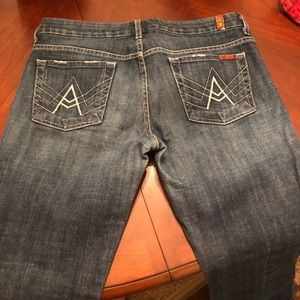 7 for all mankind A pocket jeans, size 30